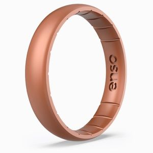 ENSO Elements Ring - Copper - Thin - Size 7